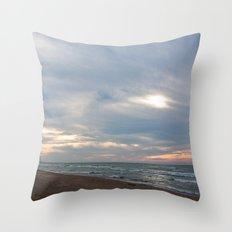 Cloudset Throw Pillow