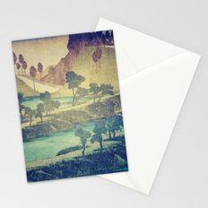A Valley in the Evening Stationery Cards
