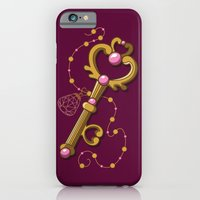 iPhone & iPod Case featuring Chibiusa Time Key - Sailor Moon by CaptainLaserBeam