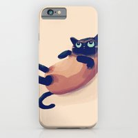 iPhone & iPod Case featuring Blue Eyes by Nan Lawson