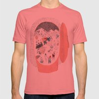 Expectation Mens Fitted Tee Pomegranate SMALL