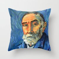 Gottlob Frege Throw Pillow
