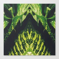 50 Shades of Green (5) Canvas Print