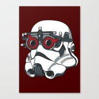 Stormtrooper Eyetest Canvas Print