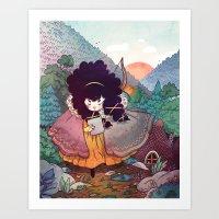 Sisters 2/5 Art Print