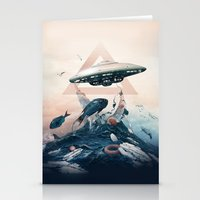 UFO Stationery Cards