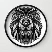 Signs of the Zodiac - Leo Wall Clock