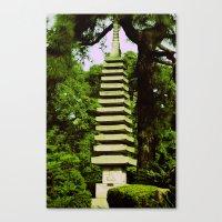 Japanese Pagoda Canvas Print
