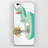 tree house iPhone & iPod Skin