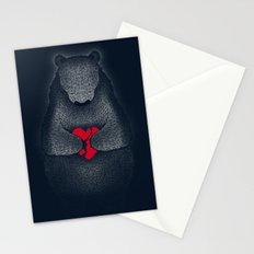 Broken (Dark Blue) Stationery Cards