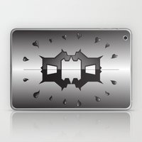 puppy love ink blot (Rorschach) Laptop & iPad Skin