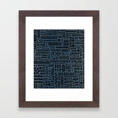 Northwoods Twilight. Framed Art Print