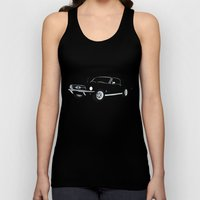 1968 Ford Mustang GT Unisex Tank Top