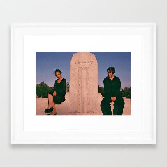 Funeral Framed Art Print