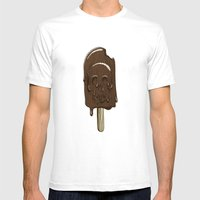 Oh Fudge Mens Fitted Tee White SMALL