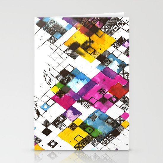 Ink Kaleidoscope Stationery Card