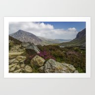 Art Print featuring Mountain Walks by Ian Mitchell