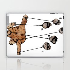 The Five Dancing Skulls Of Doom Laptop & iPad Skin