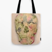 skull1 Tote Bag