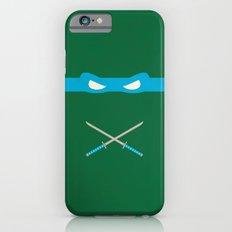 Blue Ninja Turtles Leonardo iPhone 6s Slim Case
