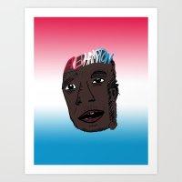 Fred Hampton  (August 30, 1948 – December 4, 1969)  Art Print