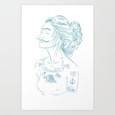 MG Art Print