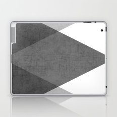 black and white triangles Laptop & iPad Skin