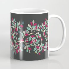 Minty Pinky Branches Mug