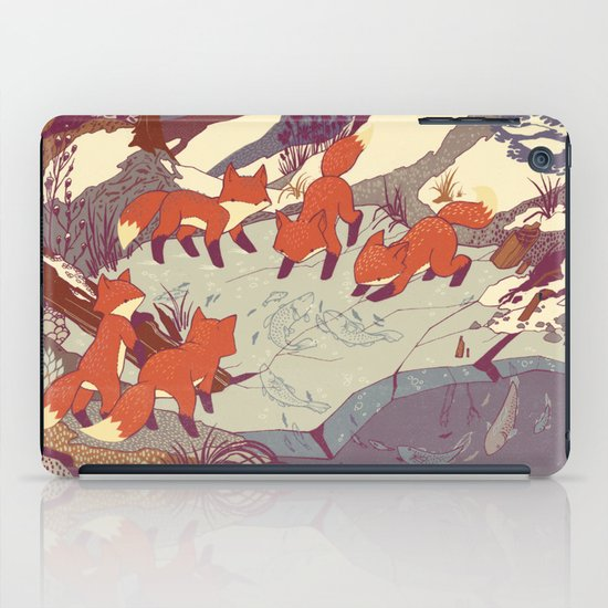 Fisher Fox iPad Case