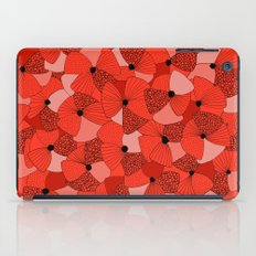 Red Poppies iPad Case