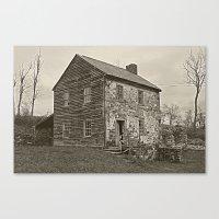Historical House Canvas Print