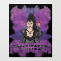 OUAT - Something Evil This Way Comes Canvas Print