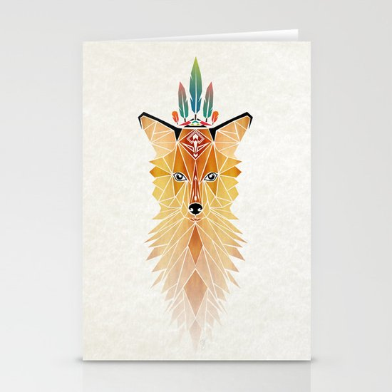 fox spirit  Stationery Card