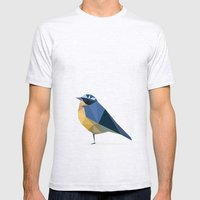 Bird Mens Fitted Tee Ash Grey SMALL