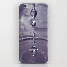 Liquid Play Purple iPhone & iPod Skin