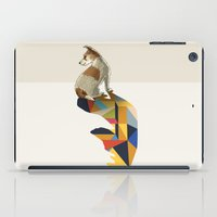 Walking Shadow, Jack Russell iPad Case