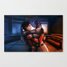 Mass Effect - Safe in your arms Canvas Print
