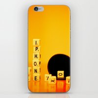My phone iPhone & iPod Skin