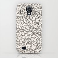Galaxy S4 Cases featuring A Lot of Cats by Kitten Rain