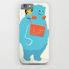 Blue-Monster Piggy-Ride Slim Case iPhone 6s
