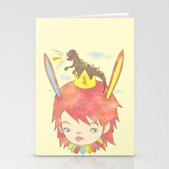 CROWN NEST - GOZILLA KING 고질라킹 Stationery Card