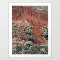Red Hill Art Print