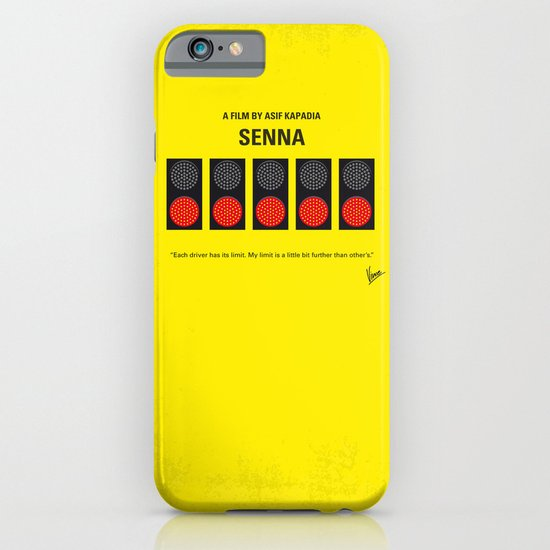 No075 My senna minimal movie poster iPhone & iPod Case