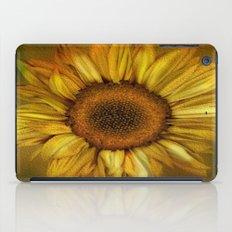 Sunflower - Vintage iPad Case