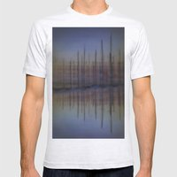 Landscape Mens Fitted Tee Ash Grey SMALL