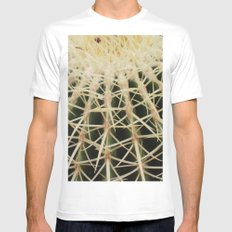 Ouch! Mens Fitted Tee SMALL White