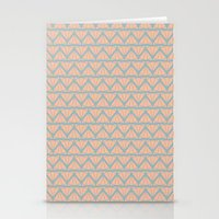 AZTEC CAT LADY Stationery Cards