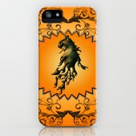 Lion With Flame iPhone (5, 5s) Slim Case