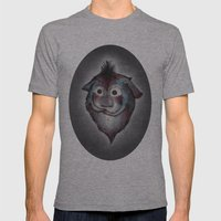 Ghost / Alone Mens Fitted Tee Athletic Grey SMALL