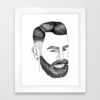 Haircut 60's Framed Art Print